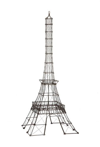 Rustic Metal Eiffel Tower Statue Part Of The French Home Accessories  Include A Little Bit Of Paris In Your Life