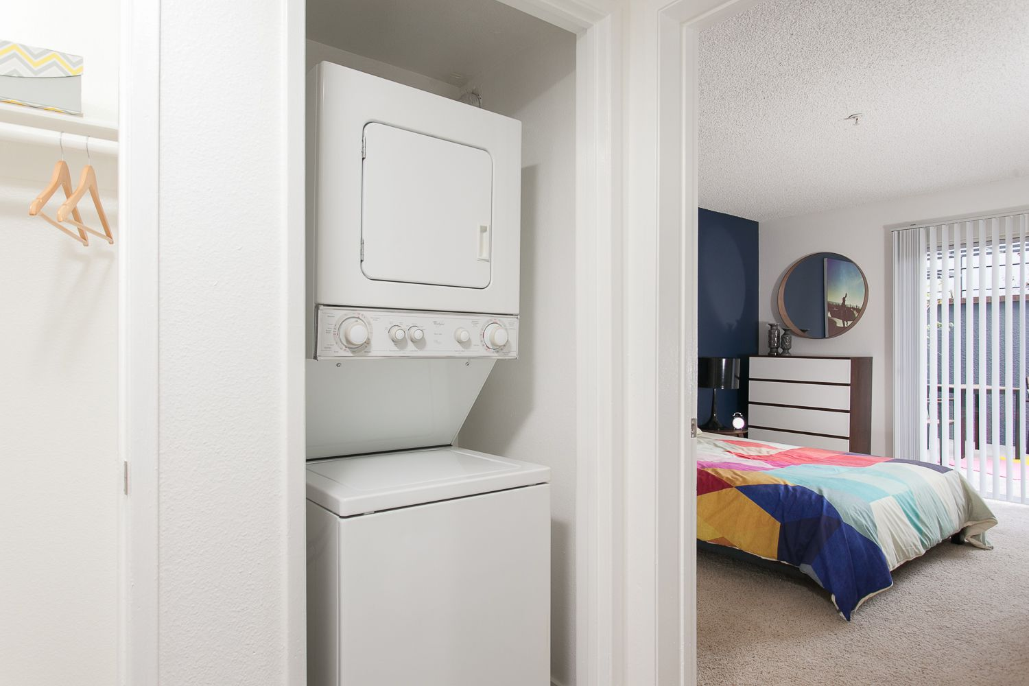 Washer and Dryers in every Apartment Home at Artists ...