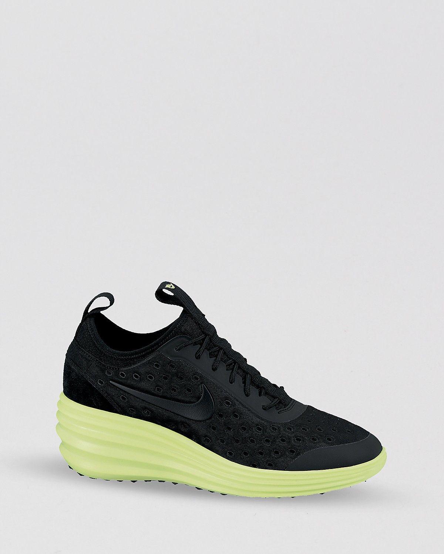 best value 7fa80 88e1b Nike Lace Up Sneakers - Women s Nike Lunar Elite Sky Hi   Bloomingdale s