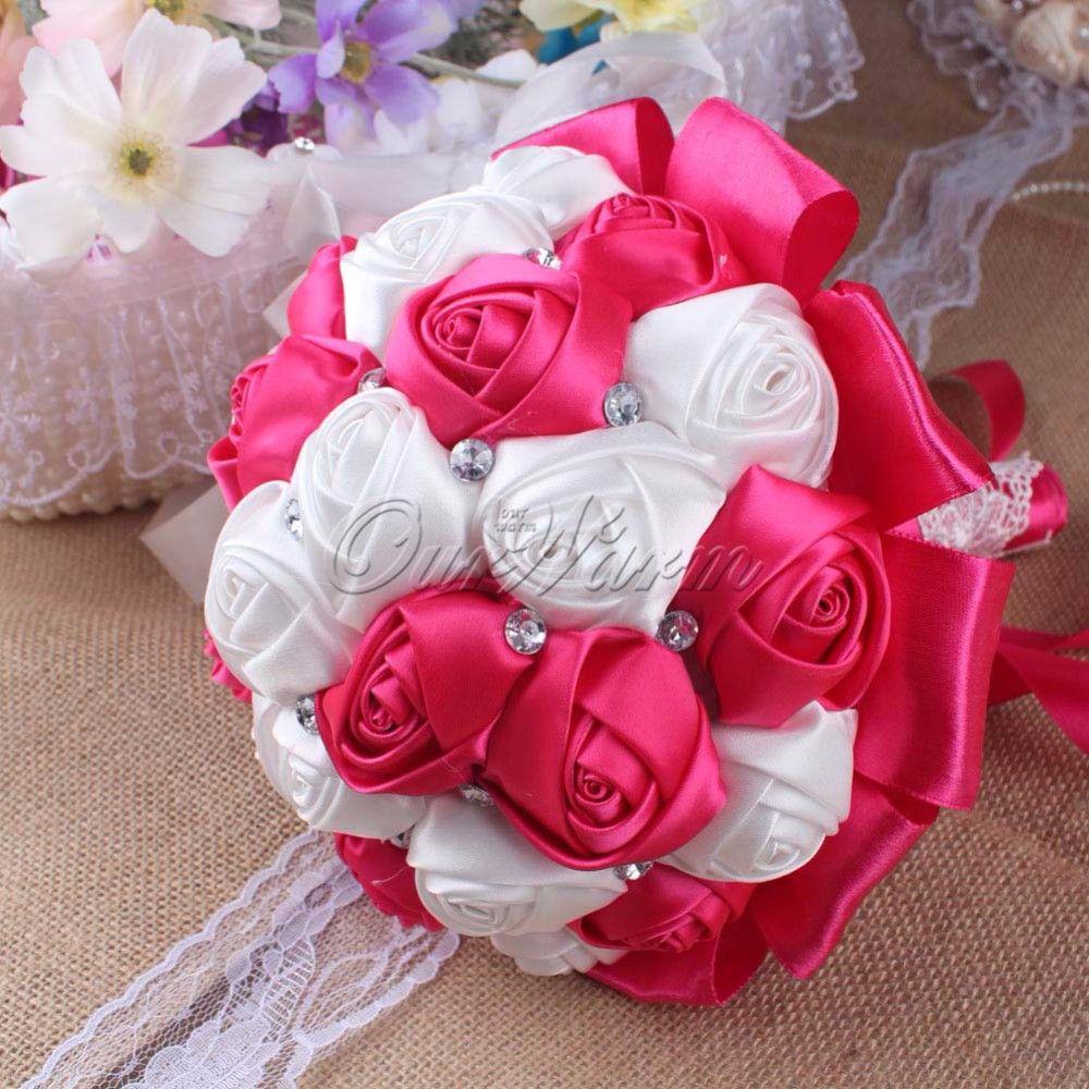 Kunstbloem rose zijden bloemen voor bruiloft decoratie nep for Decoratie nep snoep