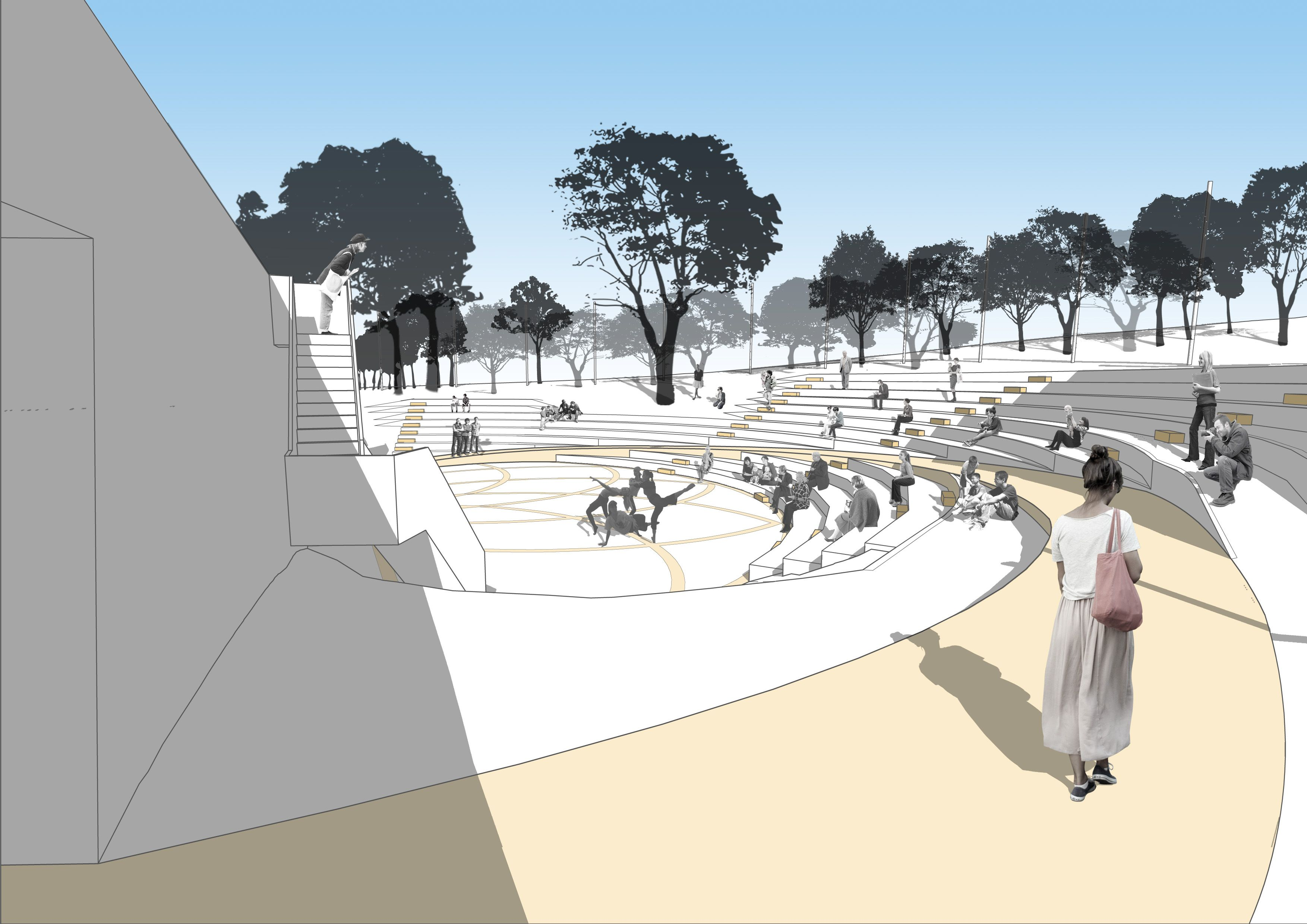 Crater site could openair theatre (With images