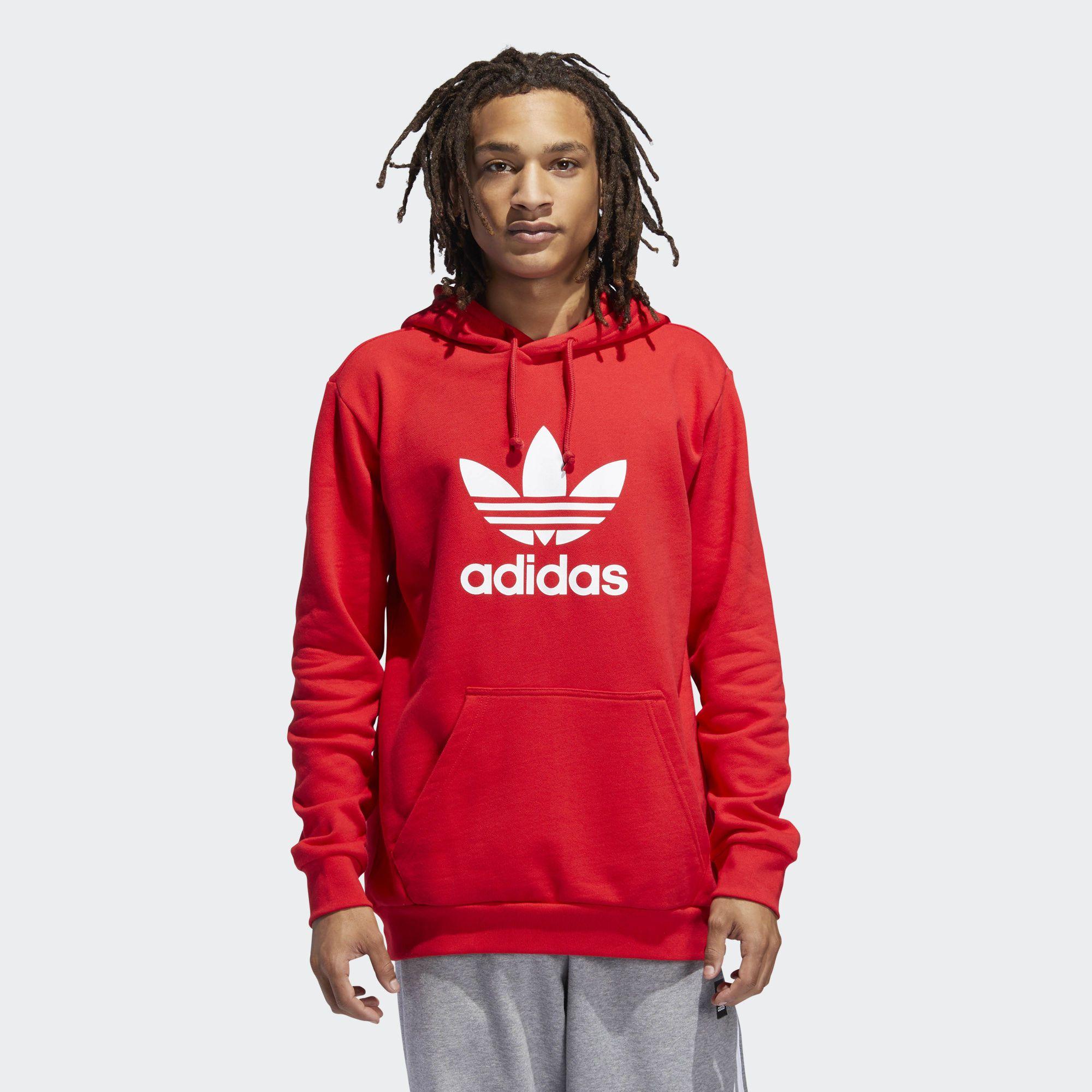 sweat adidas hommes rouge