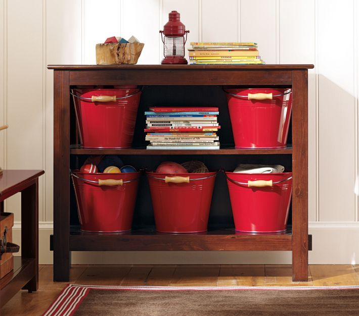 Attractive Two Shelf Kids Storage Furniture