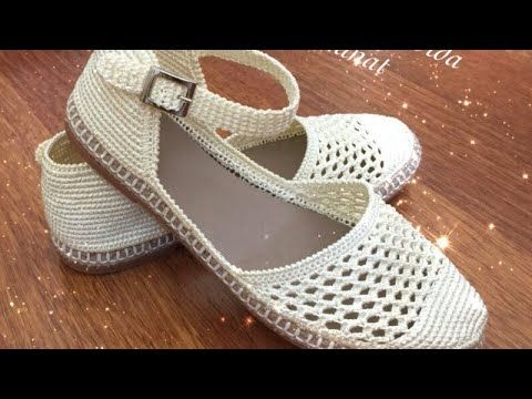 Tokalı Sandalet Yapımı 1. Bölüm #tejidos