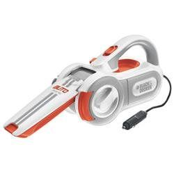 Black & Decker Pav1200W 12 Volt Dust Buster Car Cyclonic Action Pivot Hand Vacuum (00885911096492) It's not easy keeping a car clean and dirt free, but Black & Decker's 12V Automotive Pivoting Vac aims to make it a bit more convenient for car owners. Designed specifically for automobiles, the PAV12000W pivoting vacuum features a unique Accu-Reach extending nozzle with locking pivoting action to clean in those awkward and hard to reach places such as under seats or between the center console…