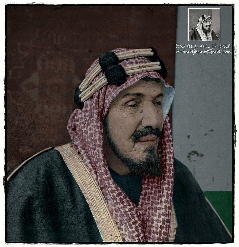 الملك عبدالعزيز بن عبدالرحمن آل سعود Saudi Arabia Culture Saudi Men Middle Eastern History