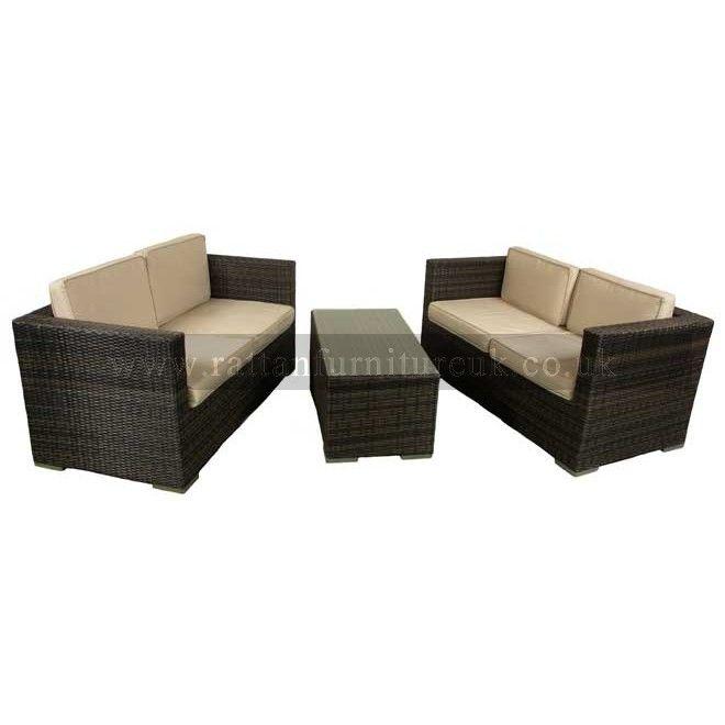 Groovy Bermuda Rattan Sofa Set Rattan Chair Garden Sofa Set Machost Co Dining Chair Design Ideas Machostcouk