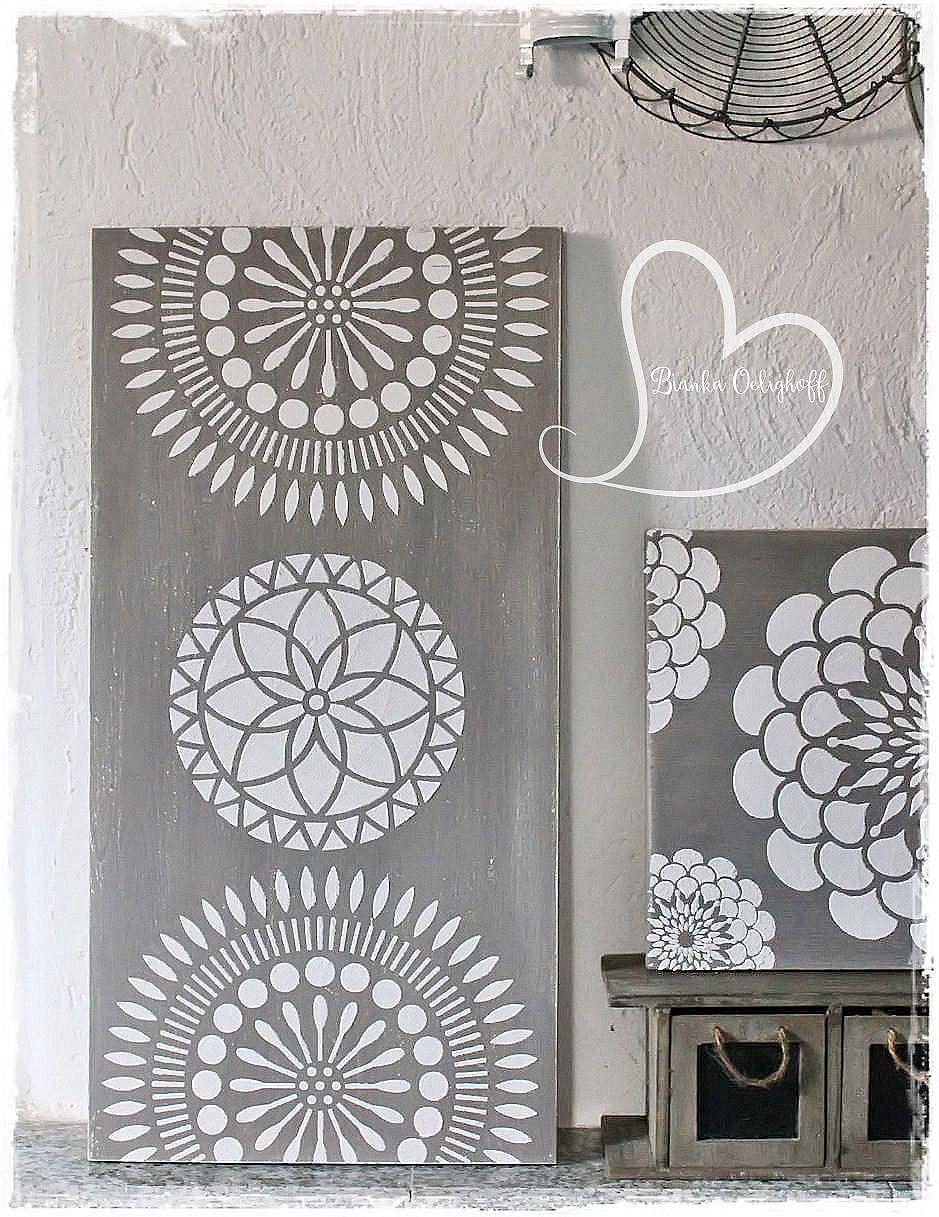 Zur Zeit ist Raum-und Wandverschönerung angesagt. Keilrahmen oder ...