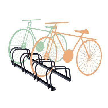 znl fahrradst nder rahmenst nder f r 4 fahrr der r der. Black Bedroom Furniture Sets. Home Design Ideas