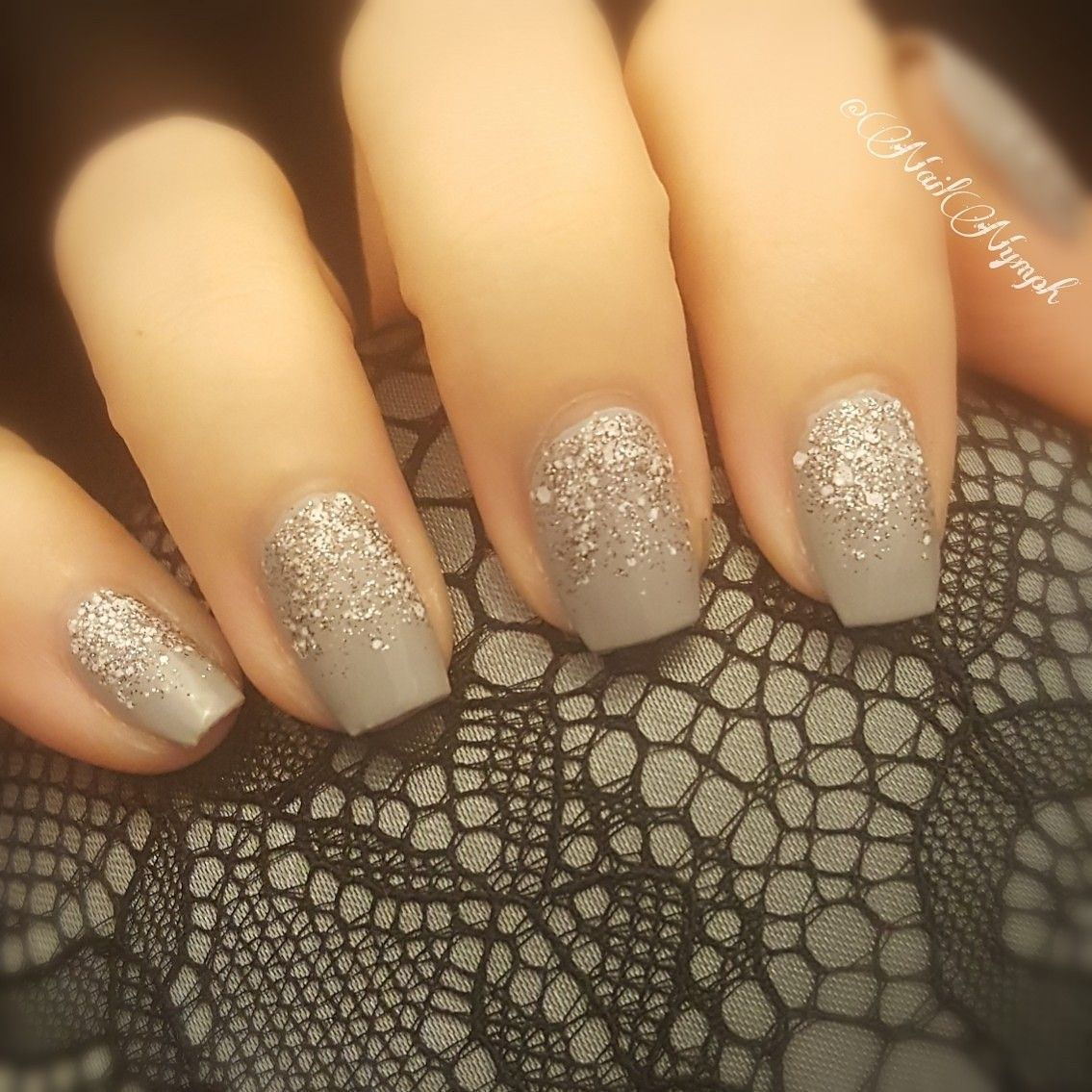 Good New Years nails. Maybe would be cute in pink | NAILS ...