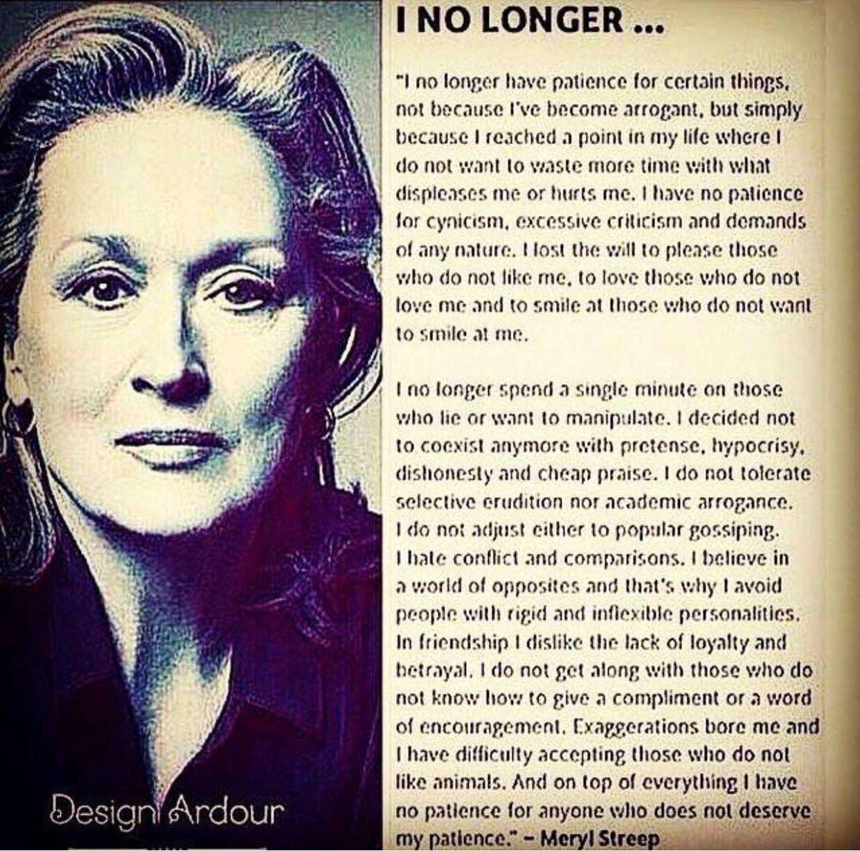 I No Longer...AMEN!
