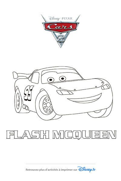 Coloriage Flash.Coloriage Flash Mcqueen Fait Peau Neuve Art Car Flash Lightning