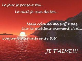 Jeune Mot d'amour Phrase d'amour Lettre d'amour Poèsie Poèmes d'amour DI-68