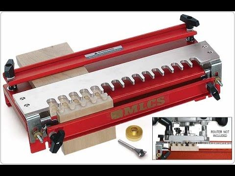 If You D Like To Incorporate Dovetails Into Your Work The Easy To Use Mlcs Dovetail Jig Is Just The Thing Jet Woodworking Tools Dovetail Jig Woodworking Jigs