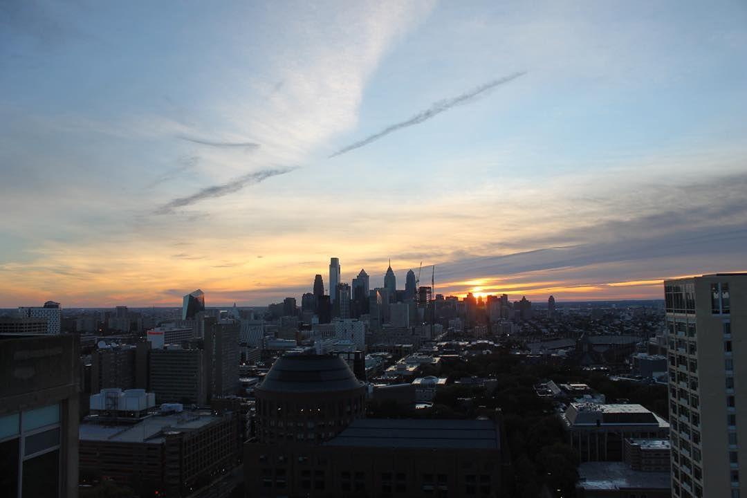 "University of Pennsylvania on Instagram ""Saturday sunrise"