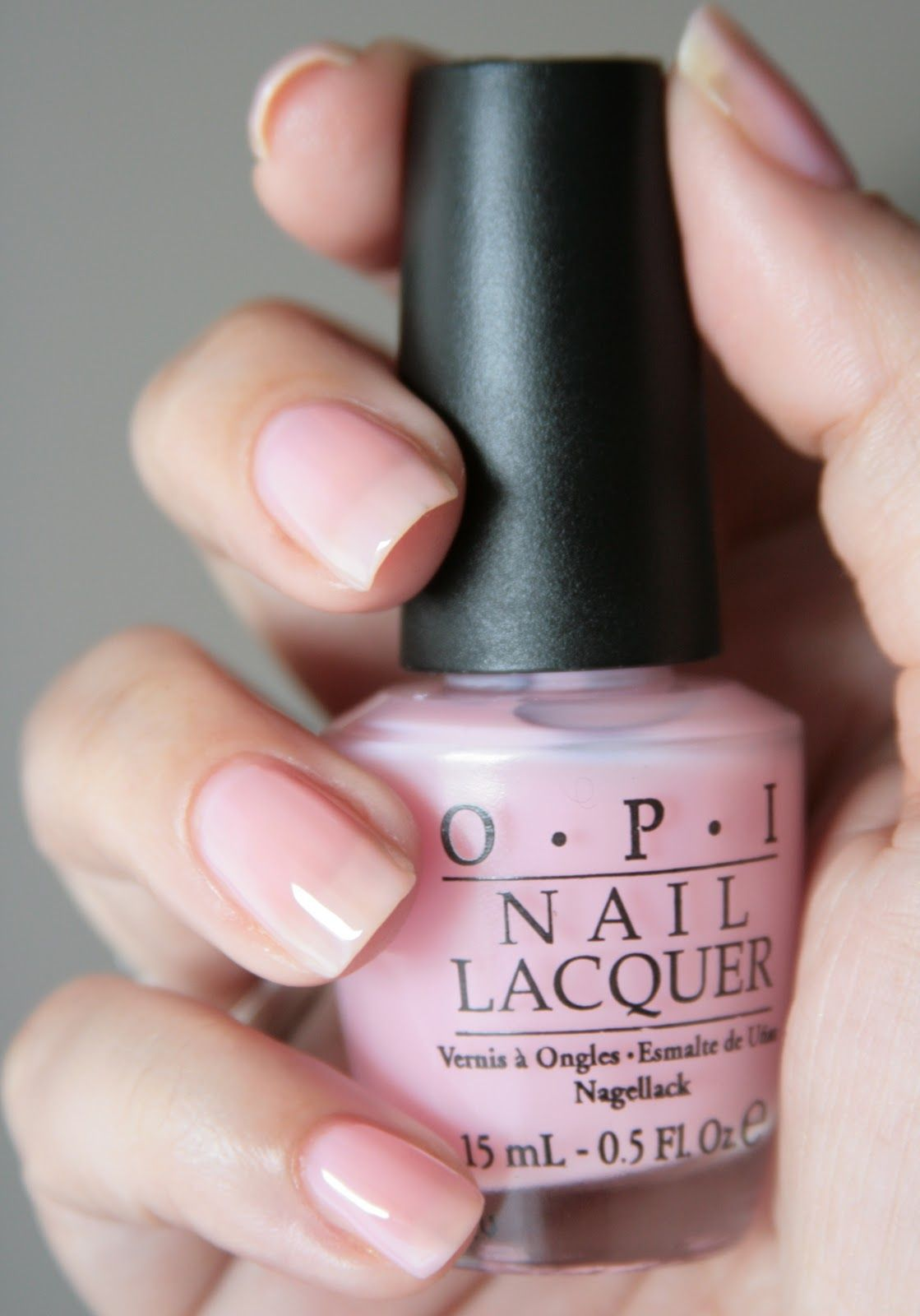 OPI In The SpotLight Pink Pink acrylic nails, Light