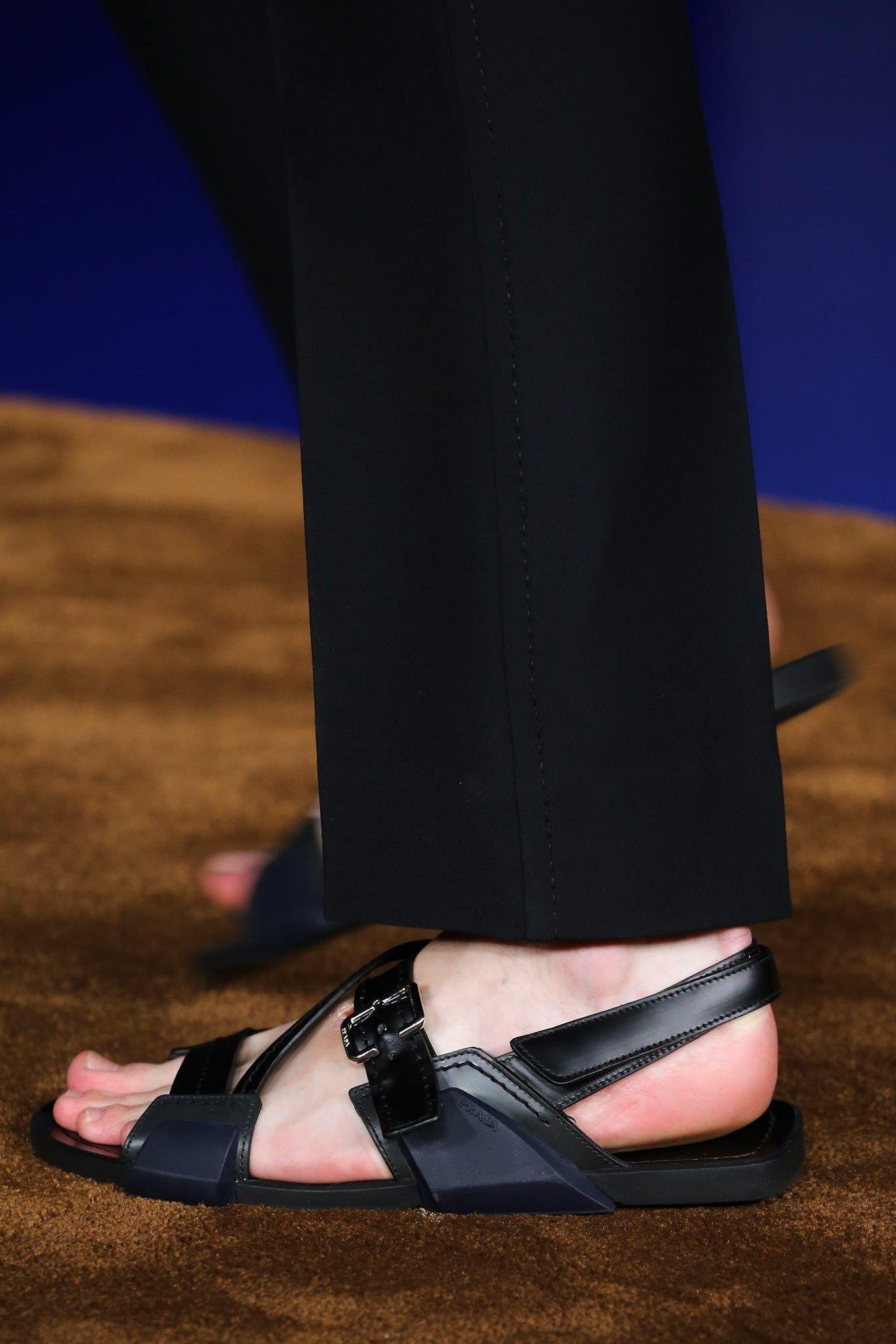 Sandals with Feathers Applied Spring/summerPrada PHOlZTFHx