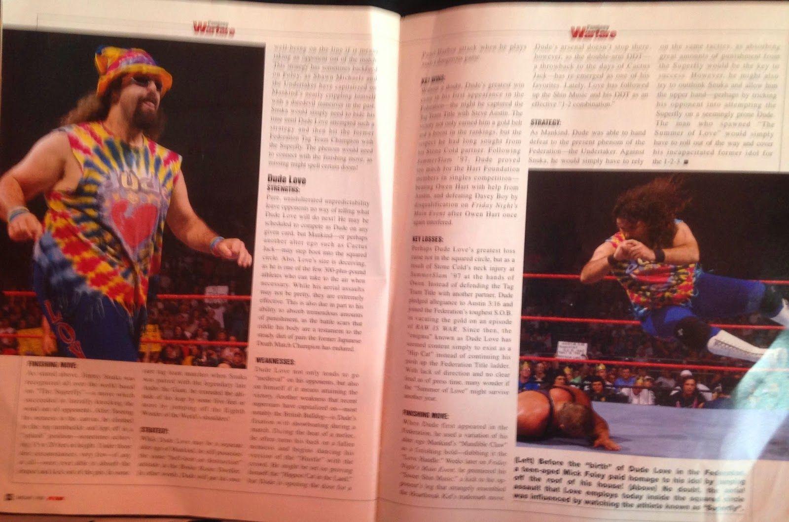 WWF Raw Magazine - January 1998 - DX magazine ad   Wwf