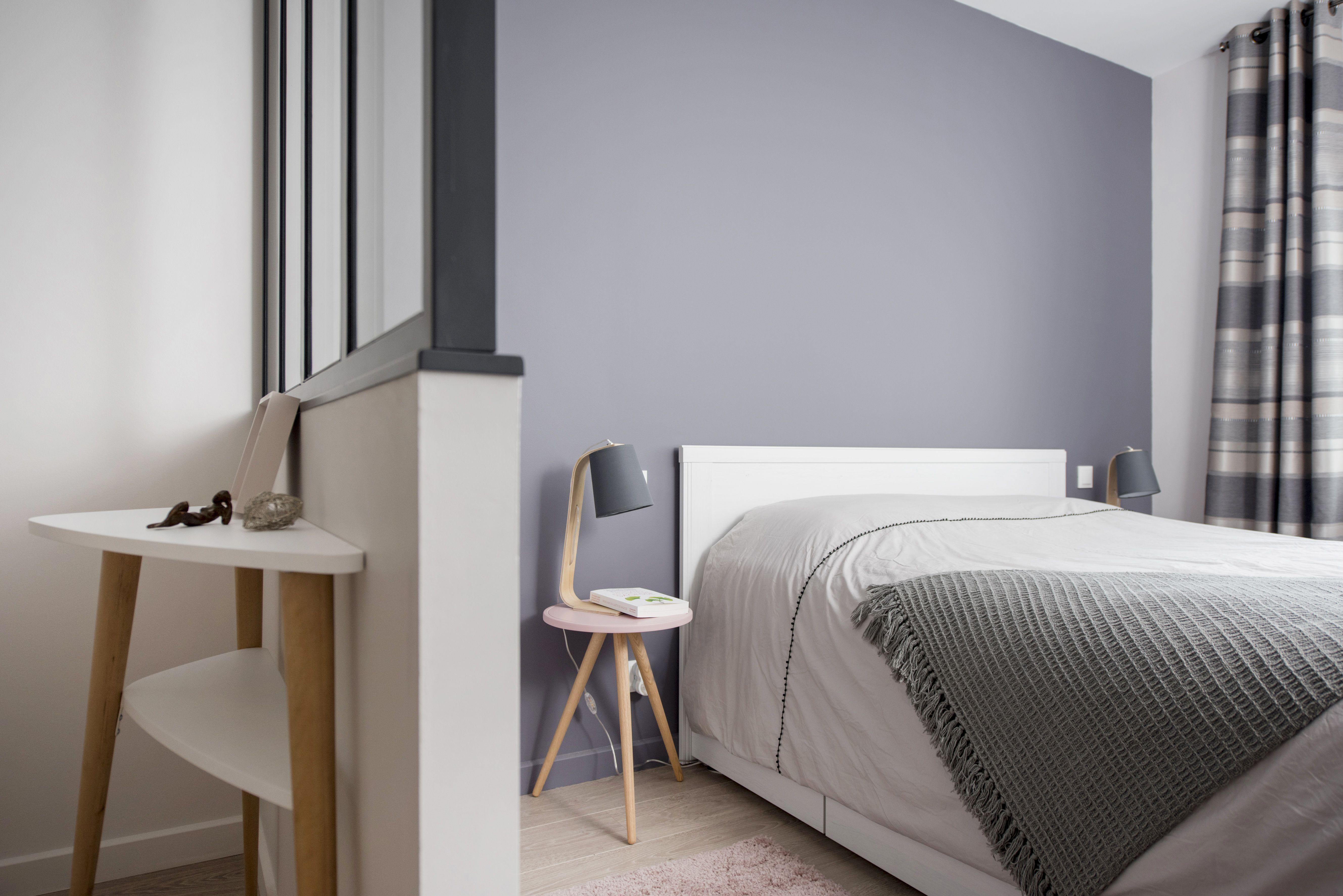 chambre avec verrire dans une maison familiale rnove par larchitecte dintrieur marion - Chambre Avec Verriere