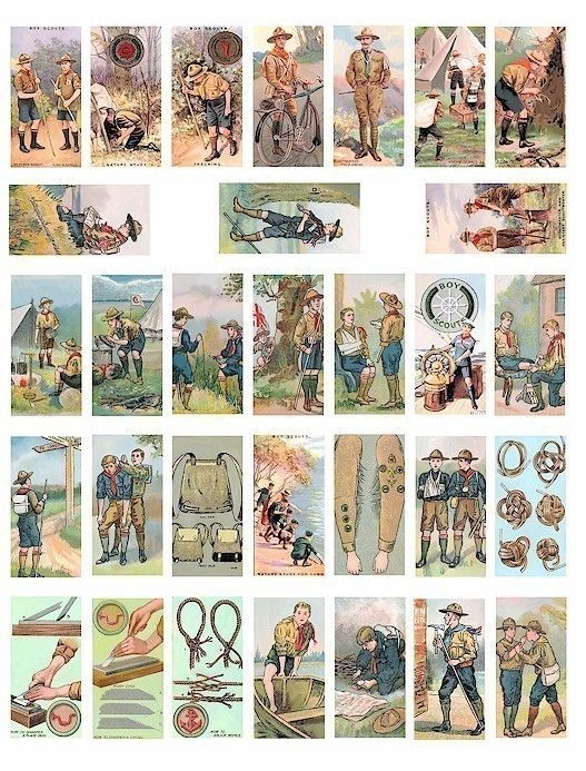 Boy scouts cub scout vintage clip art digital download domino ...