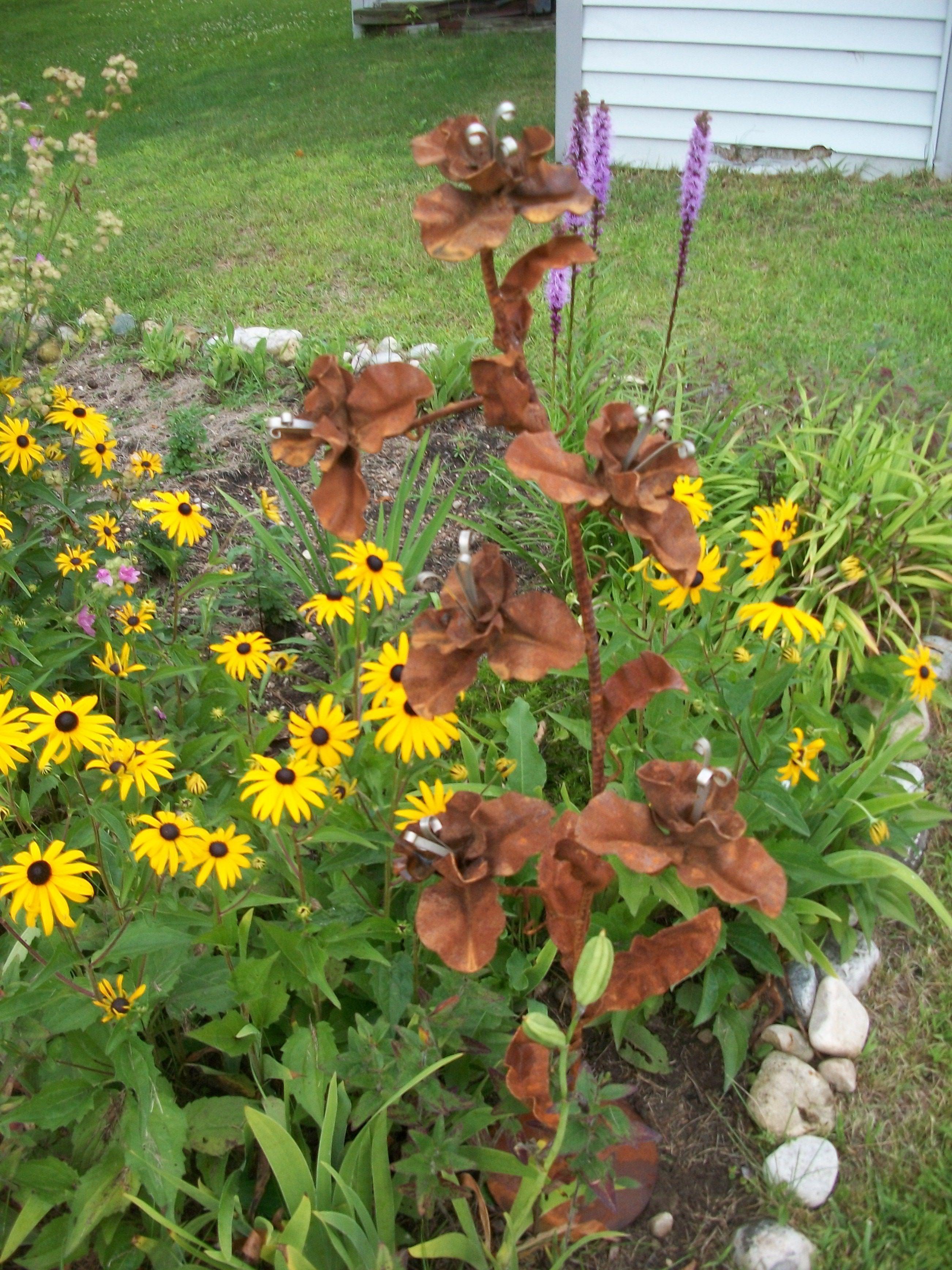Steel Garden Art