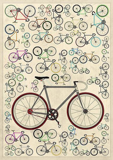 Pin Af Mary Ann Frost Pa Cykler Fixie Cykler