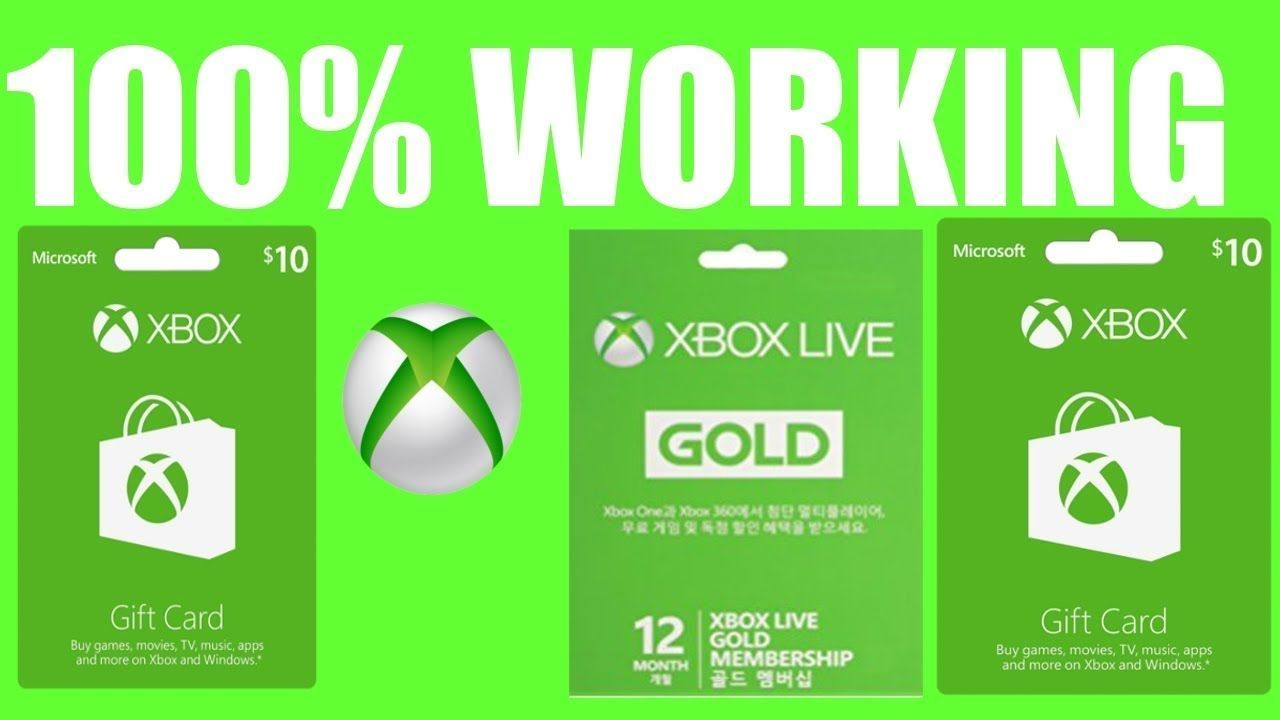 Latest Update How To Get Free Xbox Gift Card Codes Or Free Xbox One
