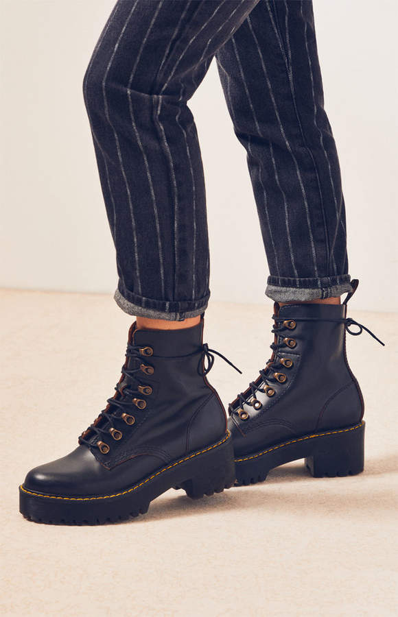 luxury fashion hot-seeling original women Dr Martens Leona Vintage Smooth Boots | Products in 2019 ...