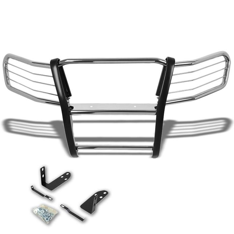 Chrome Mild Steel Front Bumper Brush Grill Guard For Honda 03 11