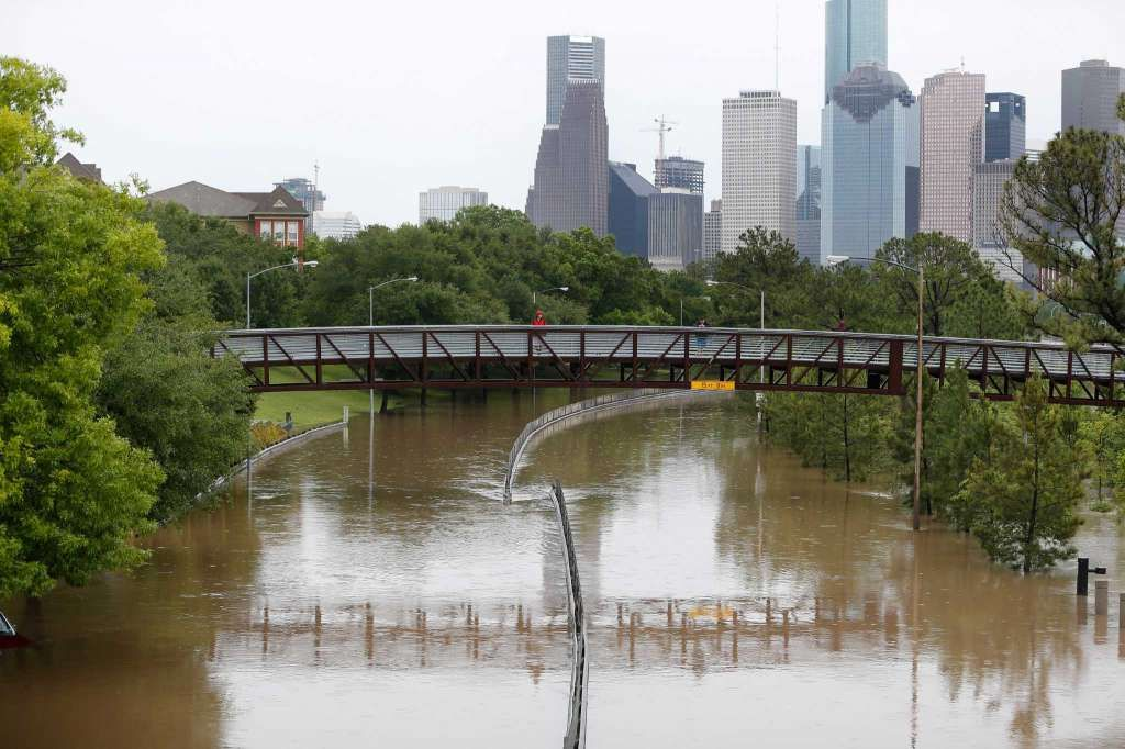 Houston is under water after 11 inches