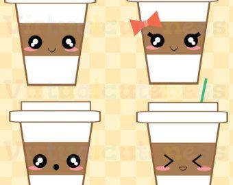 Kawaii S'mores Clipart - Cute Marshmallow, Camping Clipart ...