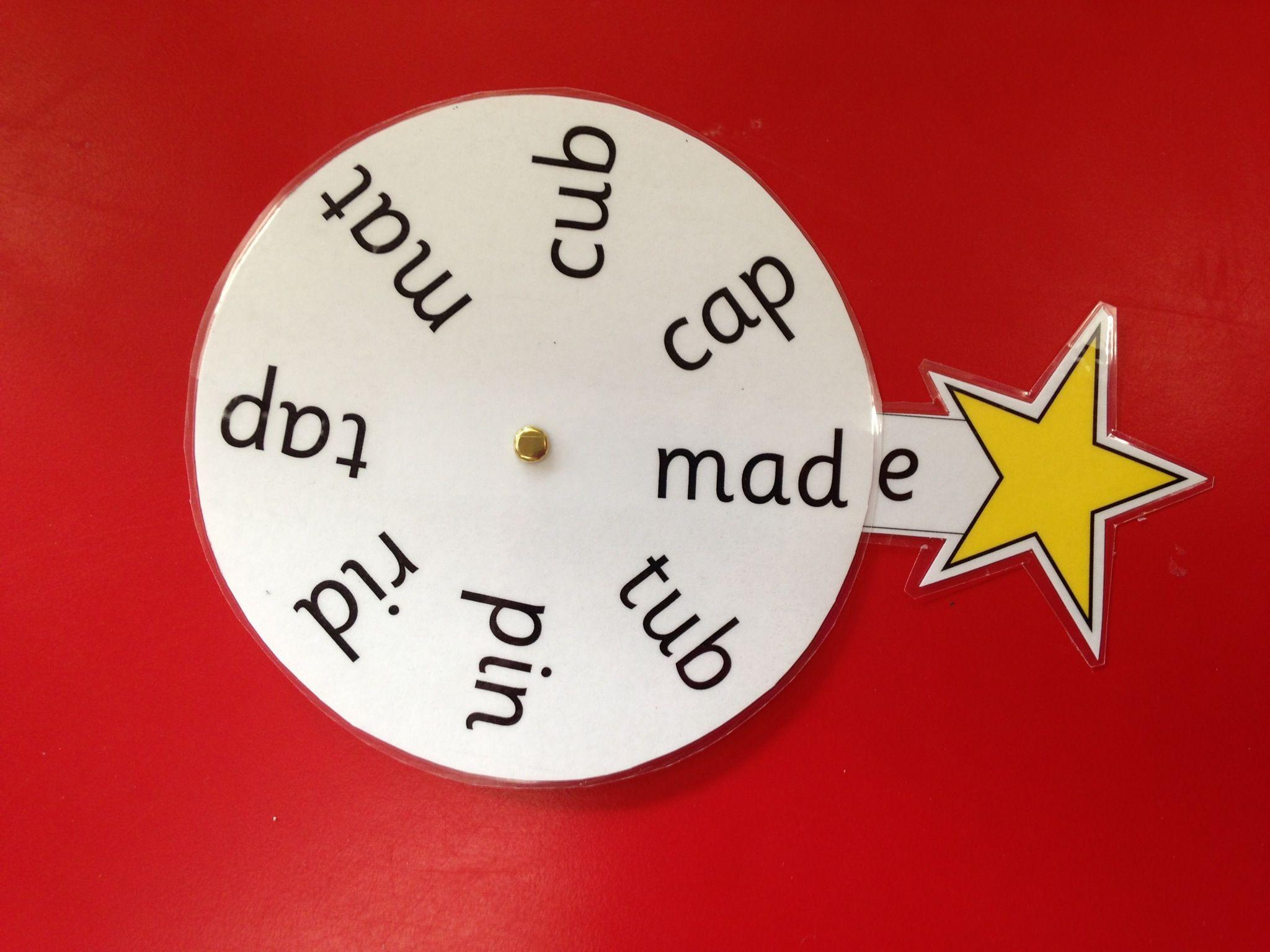 Magic e wheels, move the wand around to each word   Magic e ...