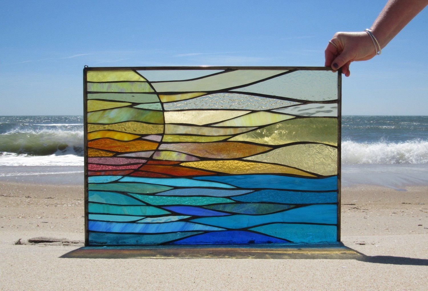 beauty Art stained glass