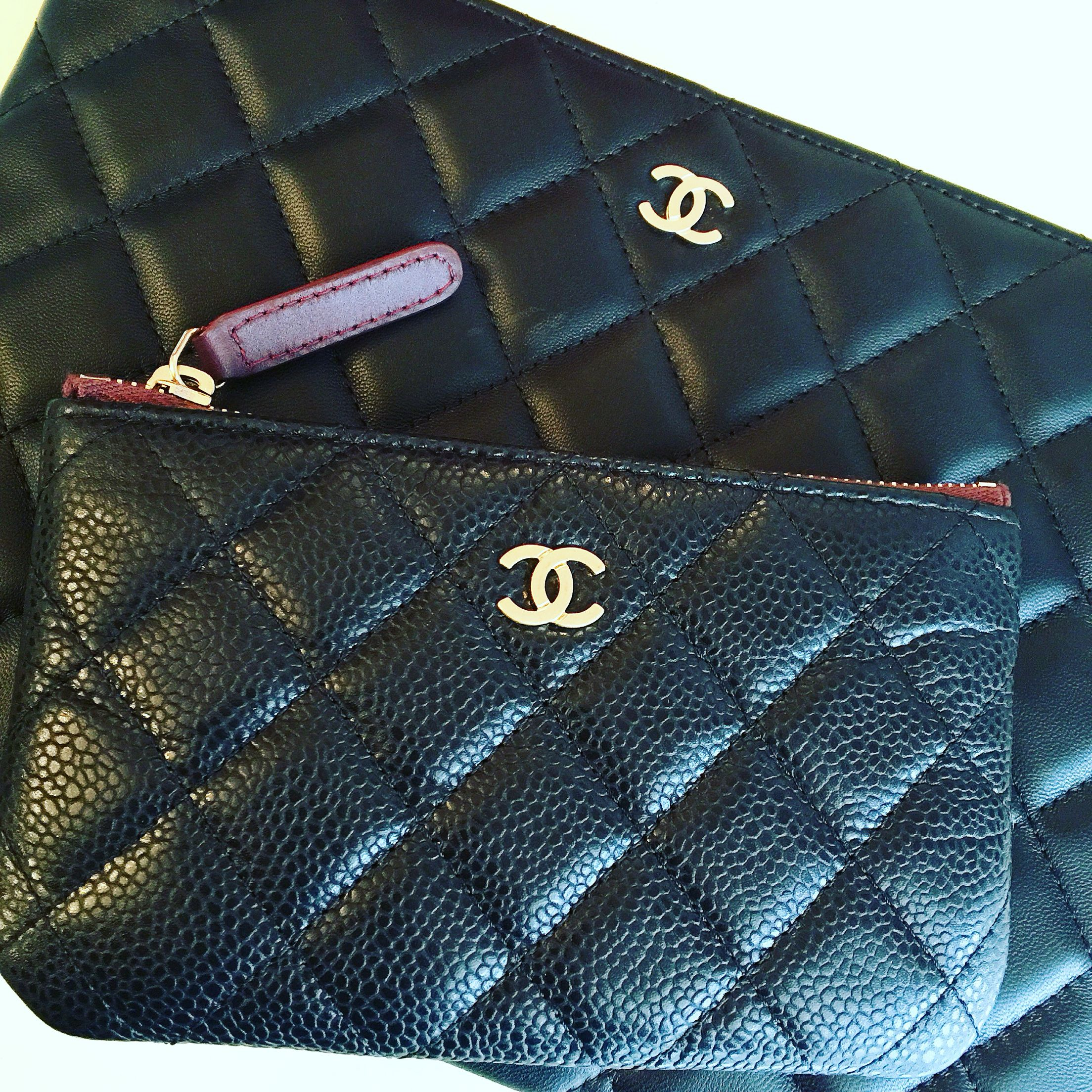 Chanel O Case   SMALL LEATHER GOODS   Pinterest   Chanel, Chanel ... fc836b5971