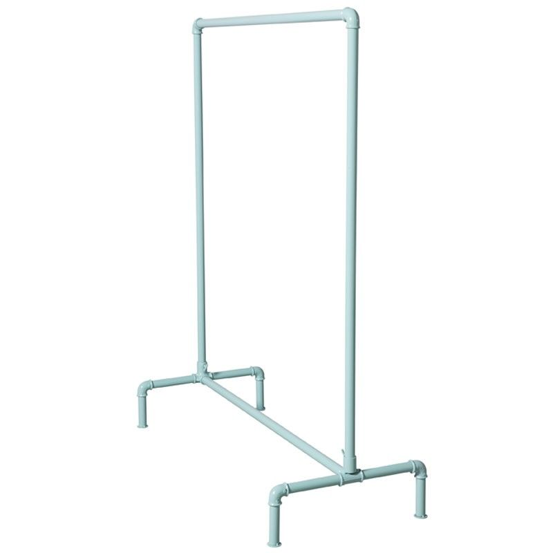 Clothing Rack Pipe Turqouise 1 Closets Diy Clothes Rack Pipe