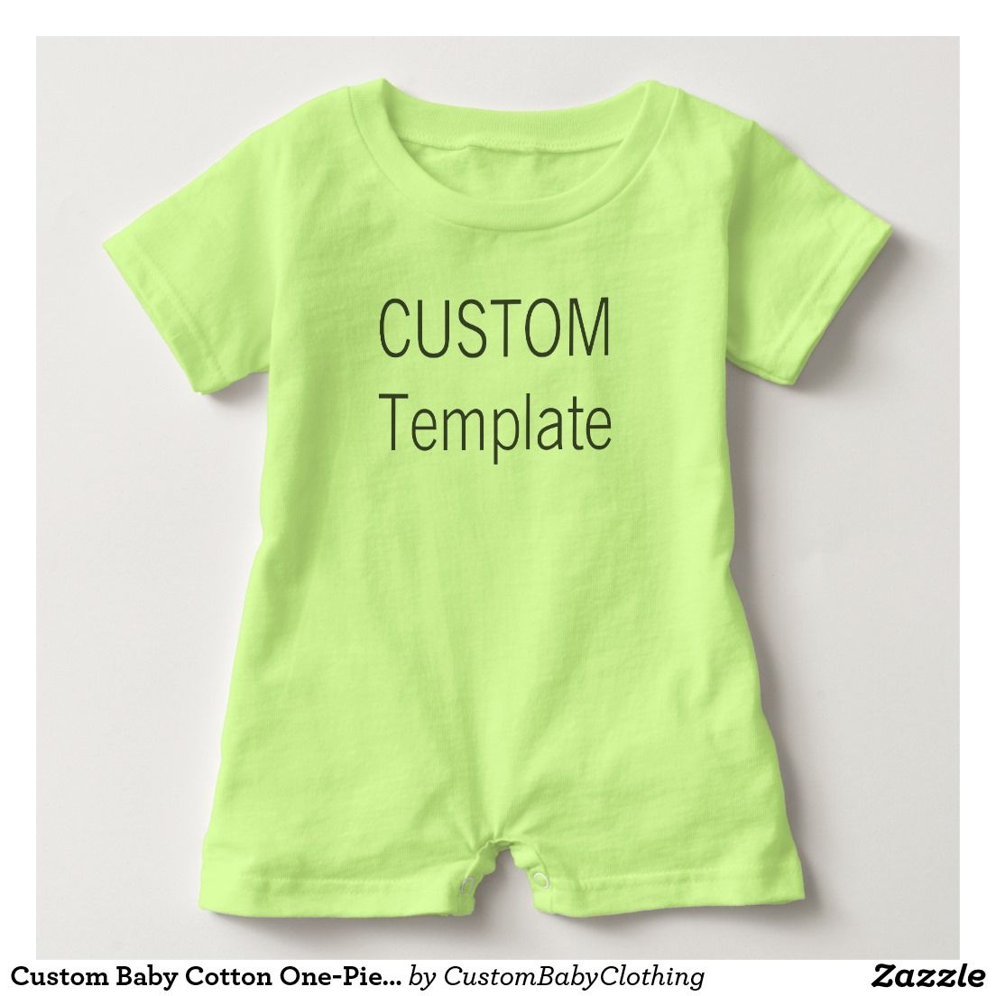 Zazzle t shirt design template - Babies