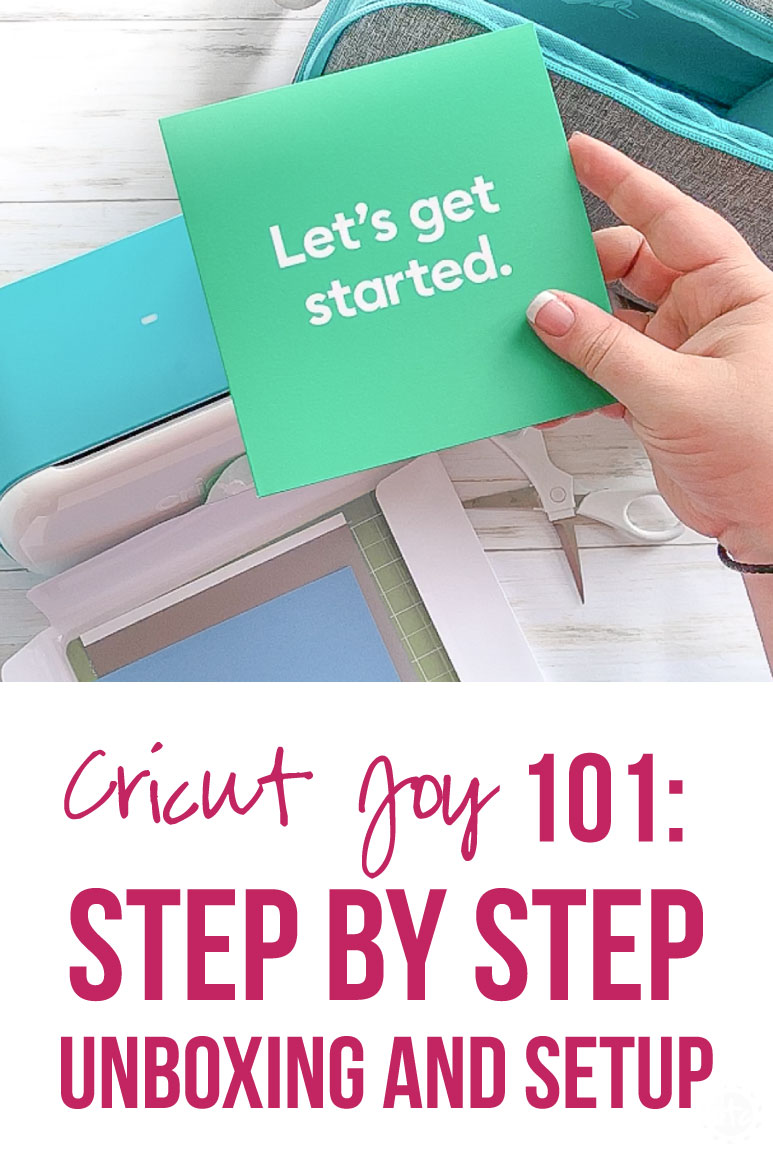 Cricut JOY 101: Step by Step Unboxing and Setup - Happily Ever After, Etc. #cricutcreated #cricutmade #cricutjoy