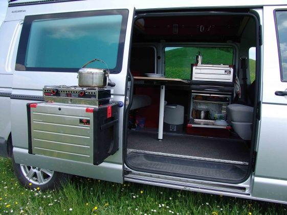 VW T5 California Beach Ausbau Küche Schrank Spüle Eigenbau nach - wasserhahn küche wandanschluss