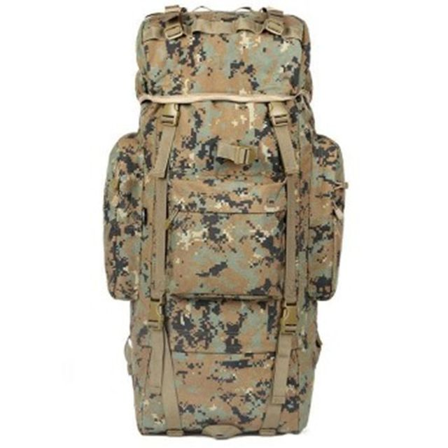 Check current price KUNDUI New Luggage double-shoulder Bags professional mountaineering bag 100 L waterproof  backpack Camouflage travel backpacks just only $81.38 with free shipping worldwide  #backpacksformen Plese click on picture to see our special price for you