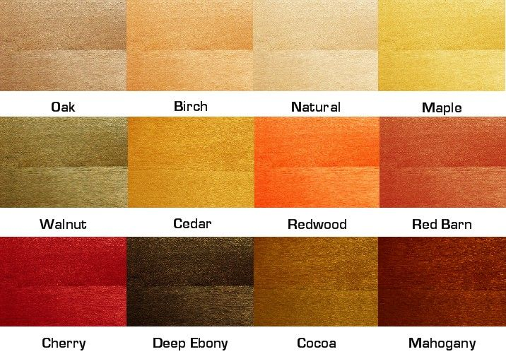 TimberSoy Cherry Wood Stain Dreamy Decor Ideas Pinterest - stool color chart