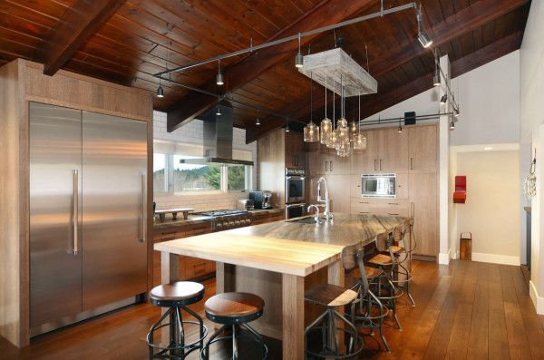 Contemporary ranch interior design by johnson & associates ...