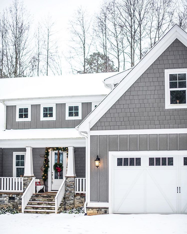 Abbie J The Gray Cottage Thegraycottage Instagram Photos And Videos Gau Gray House Exterior Exterior Paint Colors For House Grey Exterior House Colors