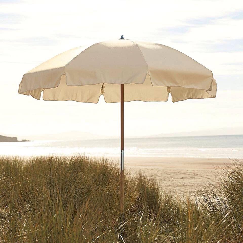 Beach Cabanas Umbrellas Natural