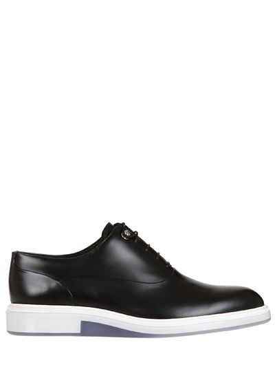 371b4bf79 Dior Homme brushed leather rubber sole shoes