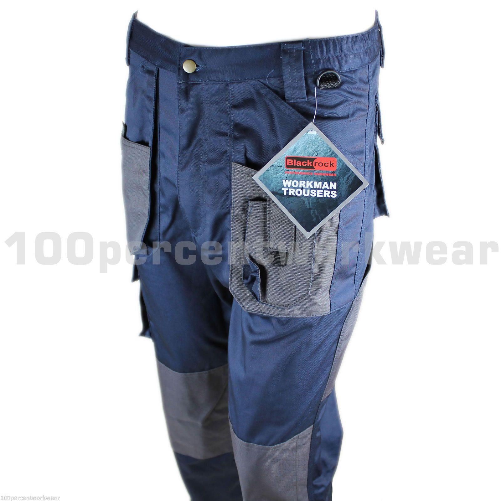 official photos fine quality best choice Blackrock Mens Cargo Combat Work Wear Trousers Pants Knee ...