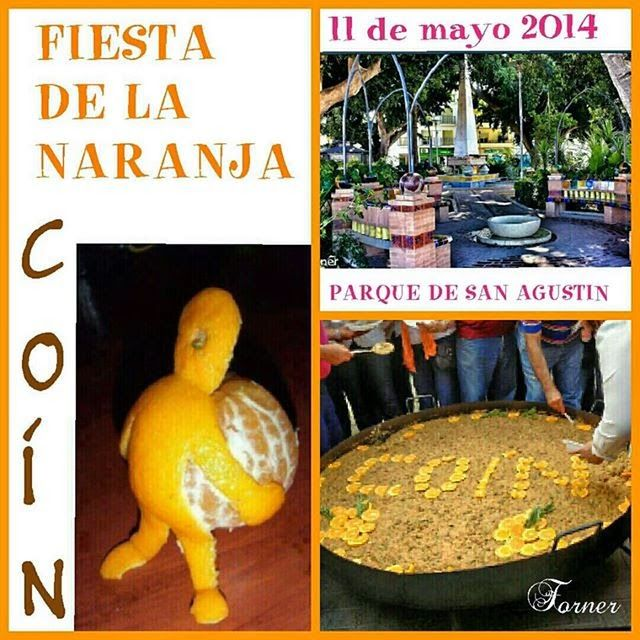 FOTOS DE COÍN.: 11 de mayo, fiesta de la naranja 2014 en Coín
