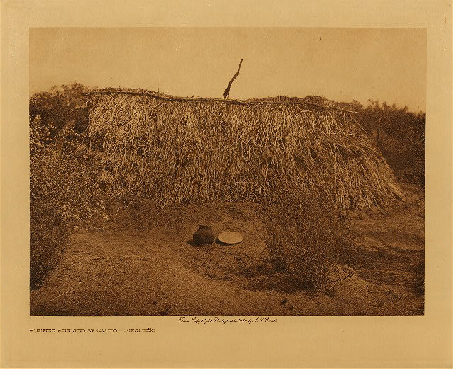 Photo of volume 15  Summer shelter at Campo – Diegueño
