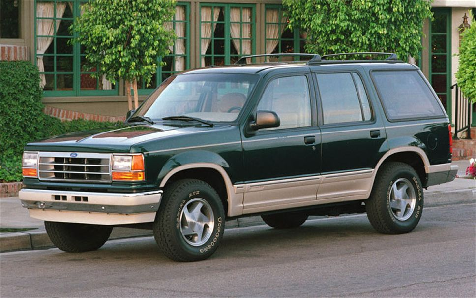 1991 Green Explorer Had An Explorer Like This When Kerry Was Born Also Courtesy Of Dow Chemical Ford Explorer Ford Suv Ford