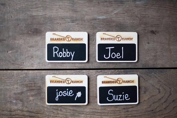custom logo name tags chalkboard name tags 20 custom work name