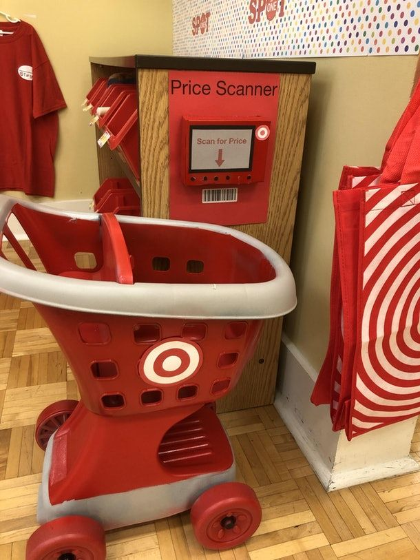 If you love Target runs, you'll certainly love this teacher's clever idea to inspire pretend play in her classroom. Check out Romper's article of how this ultimate play space came to life and caught the attention of many.